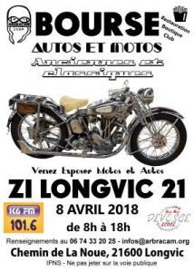 Bourse d'échanges Motos et Autos de LONGVIC
