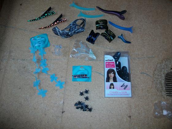 Accessoires pour Cheveux (Elastiques, Chouchous, Pinces ...)
