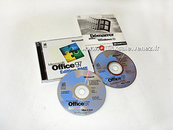 CD-Rom Microsoft Office 97 PME 20€