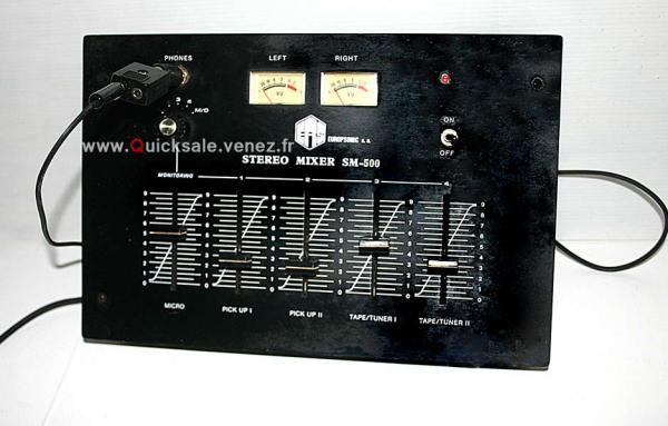 Table de mixage Europsonic stéréo mixer SM-500