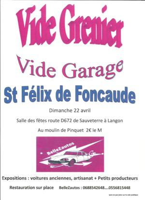 Vide-greniers de SAINT FELIX DE FONCAUDE