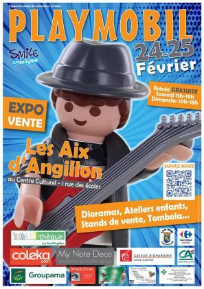 Exposition et vente de Playmobil aux Aix d'Angillon