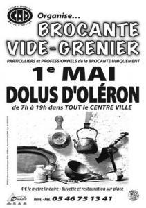 Brocante Vide-greniers de DOLUS D'OLERON