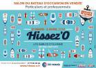 Salon Vendéen du Bateau d'Occasion Hissez'O - 31/03 au 02/04/2018.
