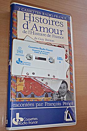 2 CASSETTES AUDIO HISTOIRES D'AMOURS 1975