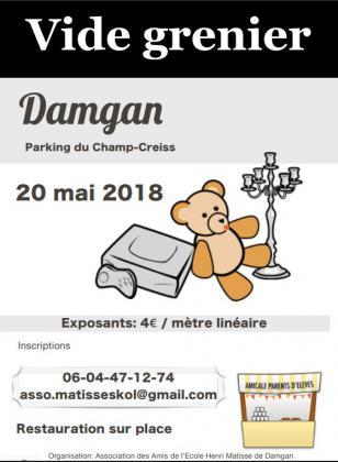 Vide-greniers de DAMGAN