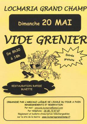 Vide-greniers de LOCMARIA GRAND CHAMP