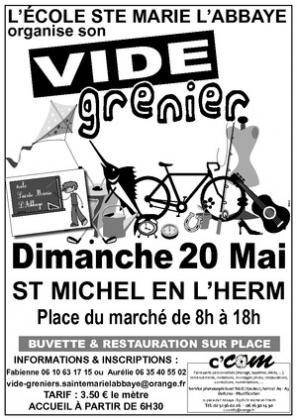 Vide-greniers de SAINT MICHEL EN L'HERM