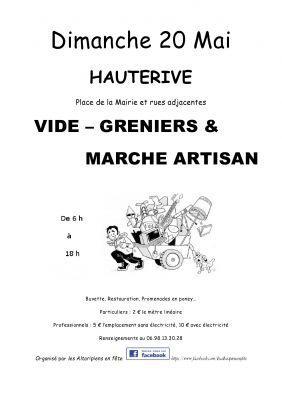 Vide-greniers de HAUTERIVE