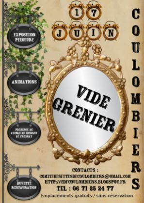 Vide-greniers de COULOMBIERS
