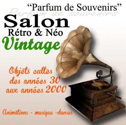 Parfum de souvenirs salon rétro néo vintage