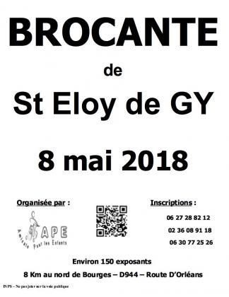 Brocante Vide-greniers de Saint Eloy de Gy