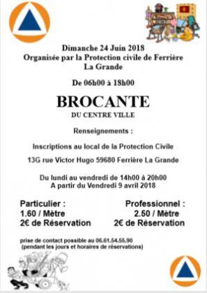 Brocante Vide-greniers de FERRIERE LA GRANDE