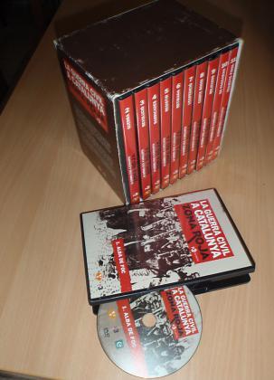 Coffret de DVD sur  la guerre civile espagnole