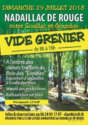 Vide-greniers de NADAILLACDE ROUGE