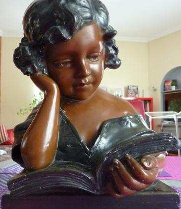 Buste en plâtre de  Cristoforo Vicari