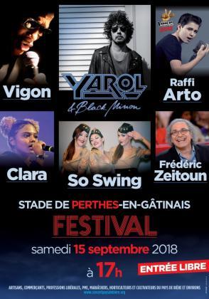 Festival de Perthes en Gatinais 2018