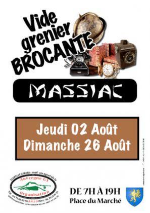 Brocante Vide-greniers de MASSIAC