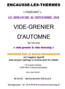Vide-greniers - ENCAUSSE LES THERMES