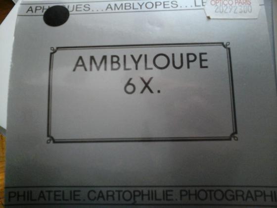 AMBLYLOUPE 6 X