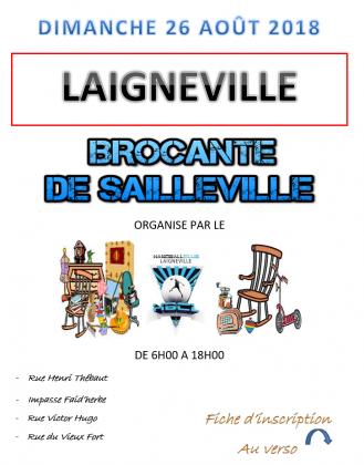 Brocante du Handball Club de Laigneville