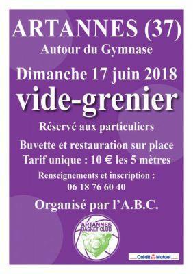 Vide-greniers - Artannes-sur-Indre