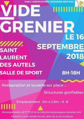 Brocante Vide-greniers - Orée d'Anjou