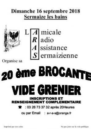 Brocante Vide-greniers de Sermaize-les-Bains