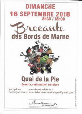 Brocante Vide-greniers de Saint-Maur-des-Fossés