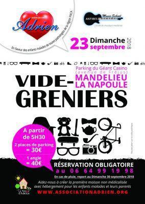 Vide-greniers de Mandelieu-la-Napoule