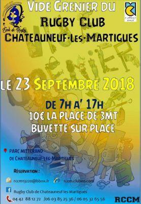 Vide-greniers de Châteauneuf-les-Martigues