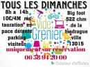 Vide grenier BIG FOOT de Marseille 15