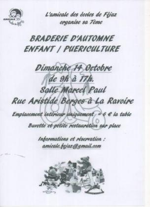 Braderie puériculture de La Ravoire
