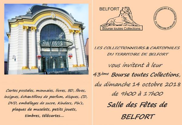 Bourse toute collection de Belfort