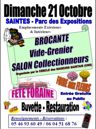 Brocante Vide-greniers de Saintes