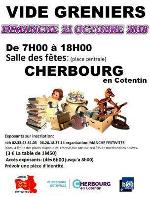 Vide-greniers de Cherbourg-en-Cotentin
