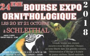 Bourse aux Oiseaux Exotiques de Schleithal