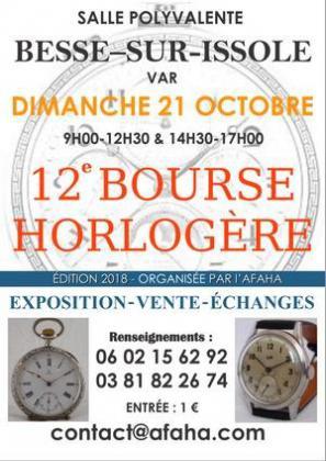 Bourse Horlogère de Besse sur Issole
