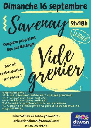 VIDE GRENIER - SAVENAY (44260)-16 SEPTEMBRE 2018