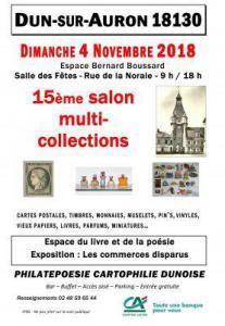 Salon Multi-collections de Dun-sur-Auron