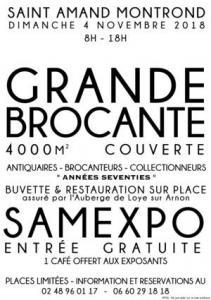 Brocante Couverte de Saint-Amand-Montrond