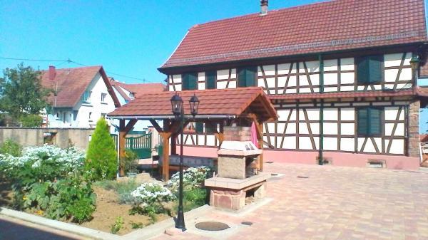 gite Cécile 4-8 personnes en Alsace près Obernai