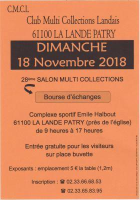Salon Multi Collections Brocante de La Lande-Patry