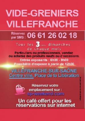 Vide-greniers de Villefranche-sur-Saône