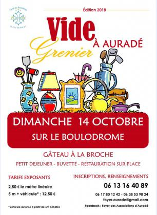 Vide-greniers - Auradé