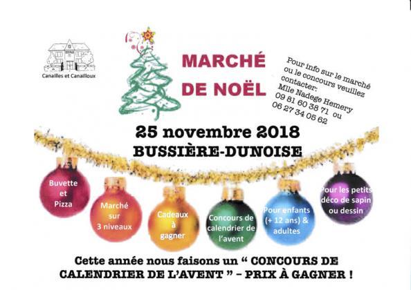 Marché de Noël de Bussière-Dunoise