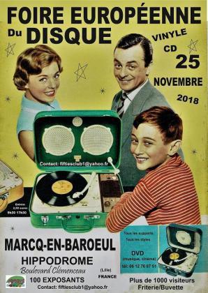 Foire Européenne du disque de Marcq-en-Barœul