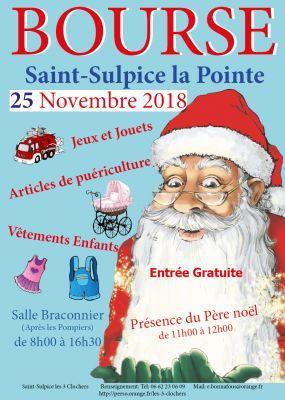 Bourse aux Jouets de Saint-Sulpice-la-Pointe