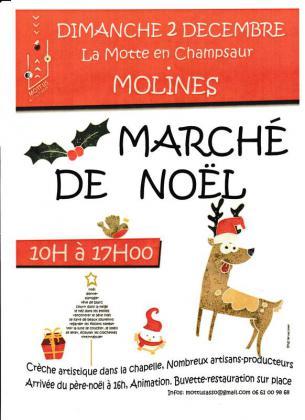 Marché de Noël de La Motte-en-Champsaur