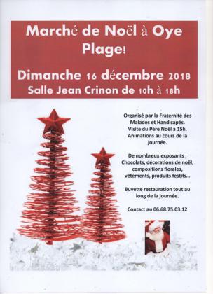 Marché de Noël - Oye-Plage